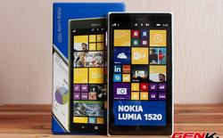 Bản cập nhật phần mềm sửa lỗi màn hình quá nhạy cho Lumia 1520