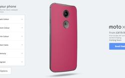 Motorola cho phép người dùng tùy biến Moto X qua công cụ nền web