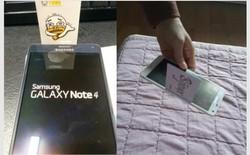 Samsung lý giải khe hở giữa màn hình và viền Galaxy Note 4