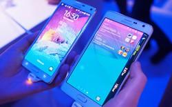 Lộ kết quả benchmark của Galaxy Note 4 và Galaxy Note Edge