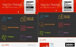 Đồng hồ Pebble sẽ có chợ ứng dụng vào thứ Hai tới