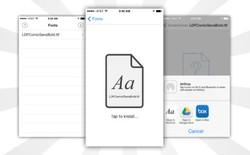 AnyFont: Ứng dụng cài đặt thêm font chữ cho iOS không cần jailbreak