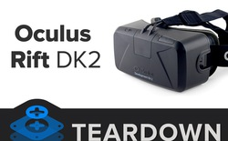 Mổ xẻ Oculus Rift DK2, tìm thấy màn Galaxy Note 3