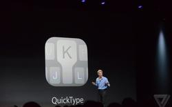Apple cho phép ứng dụng bàn phím từ các bên thứ 3 xuất hiện trên iOS 8
