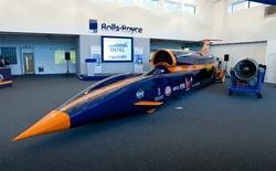 Chiếc xe nhanh nhất thế giới được thiết kế như thế nào?