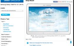 Dùng thử các sản phẩm Samsung bằng công cụ giả lập
