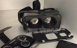 Cận cảnh Gear VR: kính thực tế ảo đầu tiên của Samsung