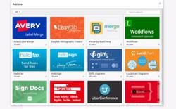 Google ra mắt cửa hàng Add-on dành cho ứng dụng văn phòng Docs và Sheets