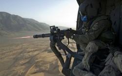"""[Video] Xem khẩu Gatling Gun 6 nòng M134 """"nã"""" đạn"""