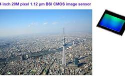 Cảm biến ảnh của Toshiba cho hình chụp di động trở nên sắc nét