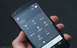 Sự khác biệt về giao diện giữa Android L và KitKat
