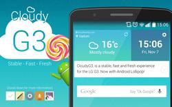 Xuất hiện bản ROM Cook Android 5.0 đầu tiên tại Việt Nam cho LG G3