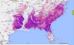Bản đồ cho phép bạn xem tình trạng phá rừng trên thế giới