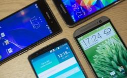 LG G3 đọ cấu hình cùng Galaxy S5, HTC One M8 và Xperia Z2