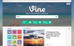 Vine phiên bản web mới giúp người dùng dễ dàng tìm kiếm video
