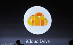 Apple tuyên chiến Dropbox và Google với dịch vụ lưu trữ iCloud Drive