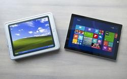 So sánh chiếc máy tính bảng đầu tiên trên thế giới với Surface Pro 3