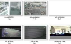 Phát hiện website thâu tóm dữ liệu của hơn 71000 camera cá nhân trên toàn cầu