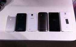 All New HTC One so dáng cùng loạt smartphone cao cấp