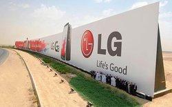 LG G3 lập kỷ lục với biển quảng cáo 3000 m2