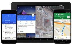 Google Maps được cập nhật giao diện Material Design