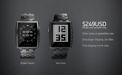 [CES 2014] Đồng hồ Pebble dùng thép không gỉ chính thức ra mắt