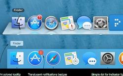 Một số thay đổi trong thiết kế của OS X Yosemite so với Mavericks