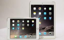 iPad Air 2, iPad mini 3 xách tay đã ngang với giá gốc tại Mỹ