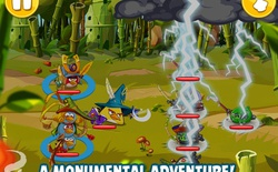 """Angry Birds Epic chính thức ra mắt, làn gió mới cho các fan """"chim điên"""""""