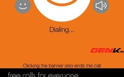 Gọi điện miễn phí với Nanu: Chưa dùng tốt tại Việt Nam
