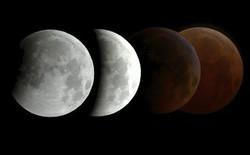 Hiện tượng kỳ thú ngày mai: Mặt trăng máu xuất hiện cùng Mặt trời mọc