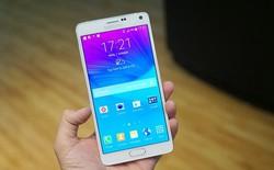 Giá chính hãng 17,99 triệu đồng cho Galaxy Note 4, 7,99 triệu đồng cho Gear S