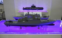 Triển lãm quốc phòng DSA ra mắt một loạt tàu chiến thế hệ mới