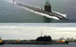 """Tàu ngầm hiện đại nhất Mỹ """"so găng"""" với """"quái vật biển"""" Nga"""