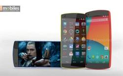 Ý tưởng Nexus 6 pha trộn giữa LG G Flex và Lumia