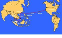 Đứt cáp quang biển AAG làm mất 40% dung lượng Internet Việt Nam đi quốc tế