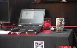 MSI ra mắt loạt laptop chơi game mới cho năm 2014