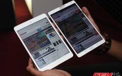 Galaxy Tab S 8.4 đọ dáng cùng iPad mini tại Việt Nam