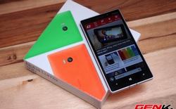 Mở hộp Nokia Lumia 930 chính hãng