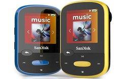 SanDisk ra mắt máy nghe nhạc thể thao giá rẻ