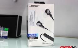 Mở hộp Bose QC20i, tai nghe chống ồn cao cấp