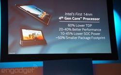Tương lai máy tính chip Intel không quạt làm mát đang đến gần