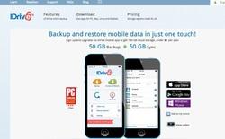iDrive ra mắt dịch vụ lưu trữ trực tuyến siêu rẻ cho người dùng iOS