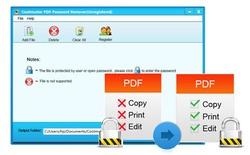 Xóa mật khẩu bảo vệ tập tin PDF với Coolmuster PDF Password Remover