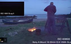 Sony demo khả năng quay đêm ấn tượng của máy ảnh Alpha A7s