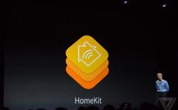 Apple ra mắt HomeKit giúp biến iPhone thành điều khiển từ xa các thiết bị thông minh