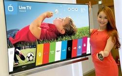 Smart TV chạy WebOS của LG sẽ tấn công thị trường Việt Nam