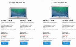 So hiệu năng MacBook Air 2014 với người tiền nhiệm