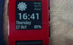 Pebble hợp tác với Android Wear trong cuộc chạy đua smartwatch