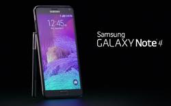 Samsung đánh bóng tên tuổi Galaxy Note 4, thêm thông tin về Galaxy A7